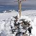 Das Gipfelkreuz der Silberen.