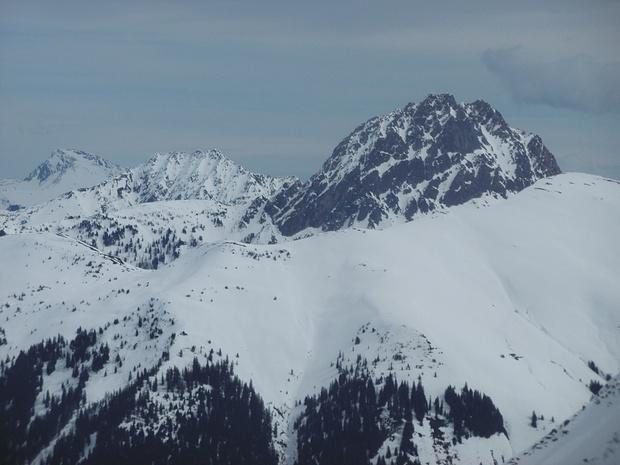 Markante Berge der Kitzbüheler Alpen