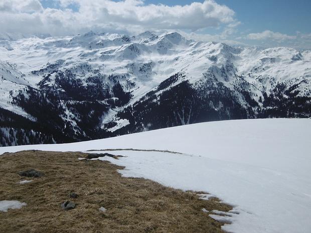 Blick vom Steinbergstein in westliche Richtung
