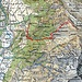 Route ab GPS<br />Die Materialseilbahn beseht so nicht mehr