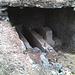 Ancienne station supérieure du câble amenant les pierres ollaires de la mine de Breiterbach.