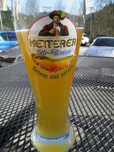 die Ketterer-Weisse, ein edles Bier