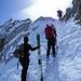 piccolo pendio ripido per raggiungere il Colle di Bedole, dal quale, senza difficoltà, si raggiunge con un traverso la cresta che porta in vetta