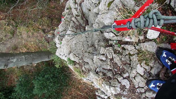 Klettersteig Luzern : Bütziflue klettersteig 900m u2013 tourenberichte und fotos [hikr.org]