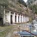 Chute de tension. Ancienne centrale électrique de Gampel II.