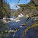 Blick Doubs-abwärts. Rechts ein Kanu-Ausbildungs-Zentrum