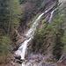 Waterfall near the dam.