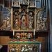 Spätgotischer Flügelaltar in einer Seitenkapelle