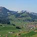 schönste Sicht auf Gonten- auch ein Ziel dieser Wanderung