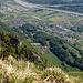Blick in das Rheintal runter und auf das schöne Plona, 1200 Hm weiter unten. Es wird Zeit, den Hohen Kasten auch mal von dieser Seite aus zu erwandern.
