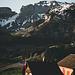 mit dem Alpläer dieser Alpe hab ich mich etwa 20 min unterhalten und den Sonnenaufgang genossen.