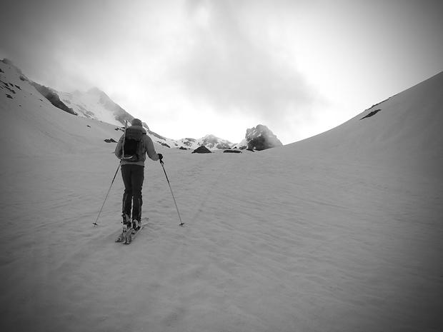unser Ziel. Gorihorn und Isentällispitz sind klar nicht der gleiche Berg