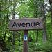 Solche mondäne Namen wollen nicht so richtig zu einem Aargauer Waldsträsschen passen