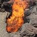 """Per comprendere che non siamo così lontani dal """"fuoco"""" dell'interno della terra (!), i guardiani del parco gettano delle fascine in buchi del terreno che, nel giro di pochi secondi si incendiano......."""