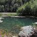 Grün schillert der Lac de Biaufond