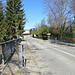 Grenzbrücke nach Frankreich über die Versoix