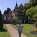 Das Schloss Seeburg wurde 1870 neu errichtet