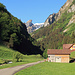 ein super, prachtswetter heute im Alpstein, diese Strasse führt zum Seealpsee