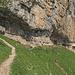 die letzten Meter bis zum Berggasthaus Äscher