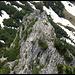 Westgrat mit Bergsteigern