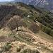 Abstieg zur Hütte - dort wartet ein Teller Polenta auf uns