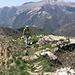 hinten der Monte Generoso - das Ziel der nächsten Etappe