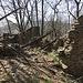 bei Monti Corno stehen nur noch Ruinen