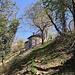 schon grüssen die Häuser der Alp dal Corno