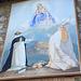 Wandgemälde an der Chiesa di Zöch