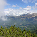 Tiefblick ins dicht besiedelte Val Colla