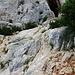 über diese Felsen wird traversiert