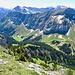 Blick vom Gipfel des Chöpfenbergs - Tierberg mit seinem Grat.