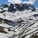 Vista verso La veduta dalla Val d'Agnel.