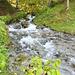 Loisachquelle und erster kleiner Wasserfall