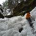 Schon fast etwas alpin: [U sglider]s Abstieg in den Schlund des Glacière de Monlési