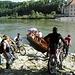 für 1,50Euro  kann man die Donau überqueren