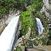 Die Alpbachfälle bei der Risleten. Da rieselt gar nix.