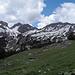Der hintere Teil des Brecca-Schlunds ist noch weitgehend schneebedeckt