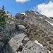 es geht alles über den Grat, und ab und zu auch etwas daneben, bis hinauf zum Alpilakopf