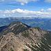 Gipfel-Ausblick hinüber zum Schillerkopf und der Mondspitze
