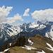 wunderbares Panorama von den Drusentürmen bis zum  Panüeler Kopf