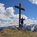 mir hat´s sehr gut gefallen auf dem einsamen Gipfel Alpilakopf, Heute wahr ich wohl der einzige auf diesem Gipfel und das am Pfingstmontag bei schönstem Wetter.