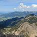 noch ein Blick über den Schillerkopf und die Mondspitze ins Rheintal hinunter.
