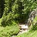 Zum Abschluss noch einmal der wunderschöne Wasserfall der Sunkenlaine