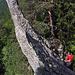 Eine Felsnadel am Grat...