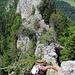 Rückblick auf einen kleinen Teil der Arête des Sommêtres.