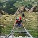 Via 1. August Leiter zum Gipfel