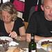 brasato e polenta: che delizia! a sinistra Pia,l'eccezionale cuoca