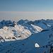 Die Bergwelt nördlich vom Oberalppass