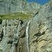 Wasserfall beim Larschitritt
